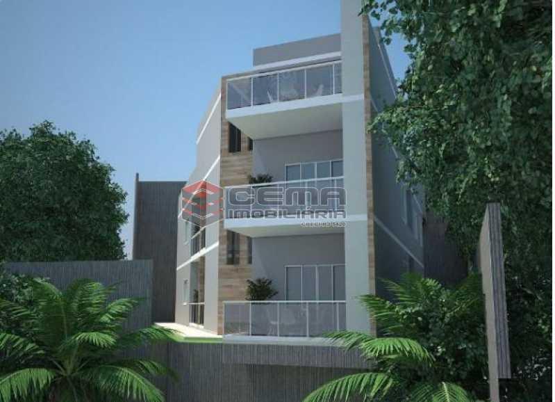 1-VISTA  - Apartamento 2 Quartos À Venda Santa Teresa, Zona Centro RJ - R$ 550.000 - LAAP23414 - 1