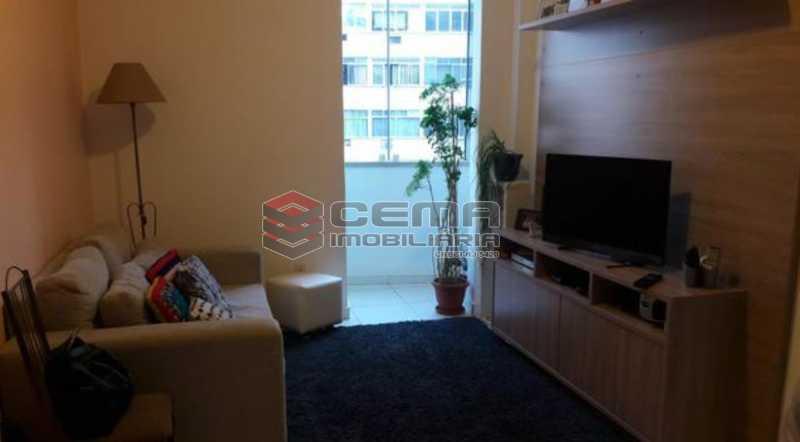 2-SALA - Apartamento 1 quarto à venda Centro RJ - R$ 420.000 - LAAP12004 - 3