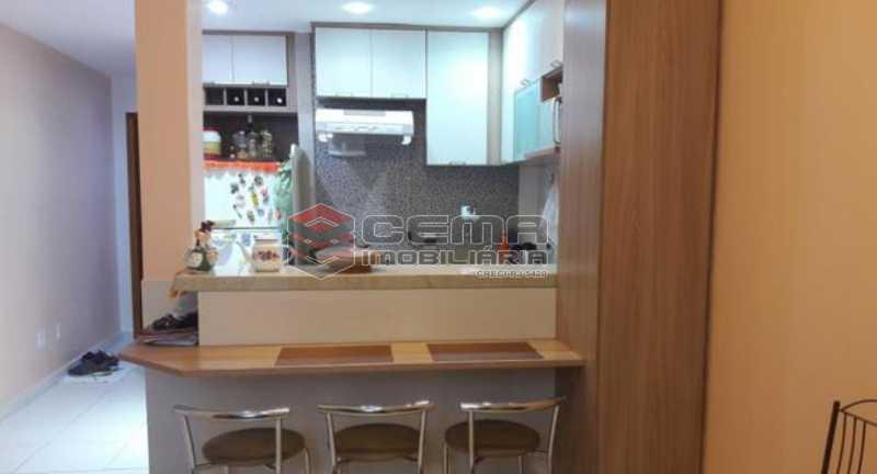 3- COZINHA AMERICANA - Apartamento 1 quarto à venda Centro RJ - R$ 420.000 - LAAP12004 - 4