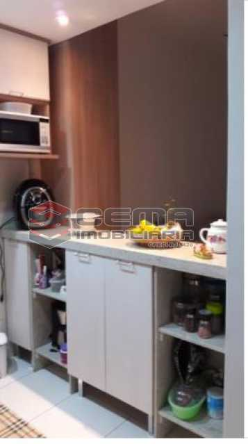 4- COZINHA - Apartamento 1 quarto à venda Centro RJ - R$ 420.000 - LAAP12004 - 5