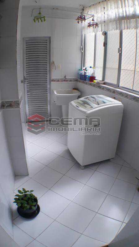 Área de Serviço - Apartamento à venda Rua Conde de Bonfim,Tijuca, Zona Norte RJ - R$ 540.000 - LAAP32990 - 18