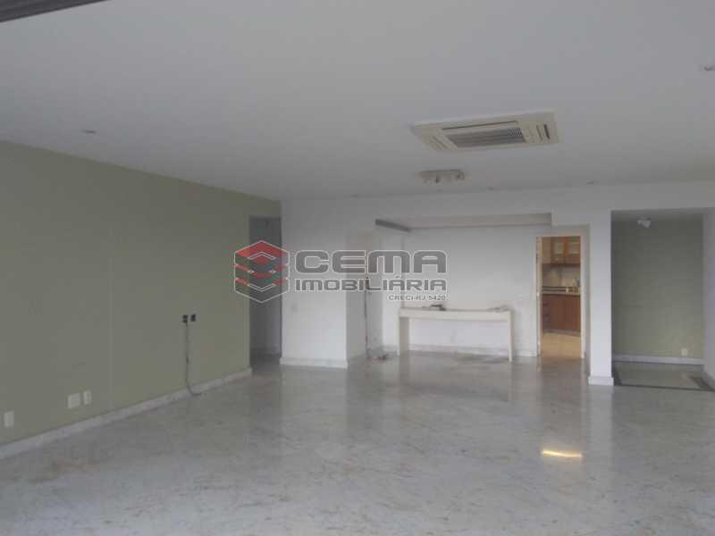 2.living - Apartamento à venda Avenida Vieira Souto,Ipanema, Zona Sul RJ - R$ 4.600.000 - LAAP32993 - 6