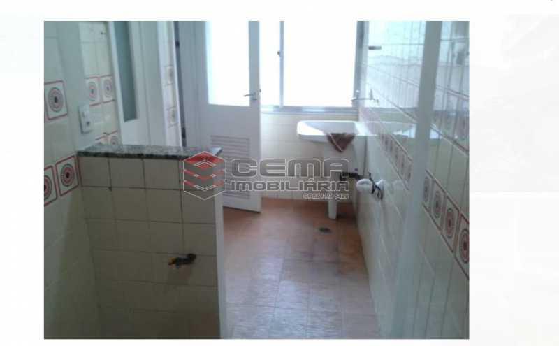 área serviço - Apartamento À Venda - Flamengo - Rio de Janeiro - RJ - LAAP33060 - 12