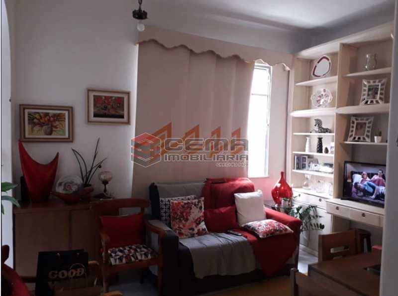2 - Apartamento à venda Rua Benjamim Constant,Glória, Zona Sul RJ - R$ 450.000 - LAAP12049 - 1