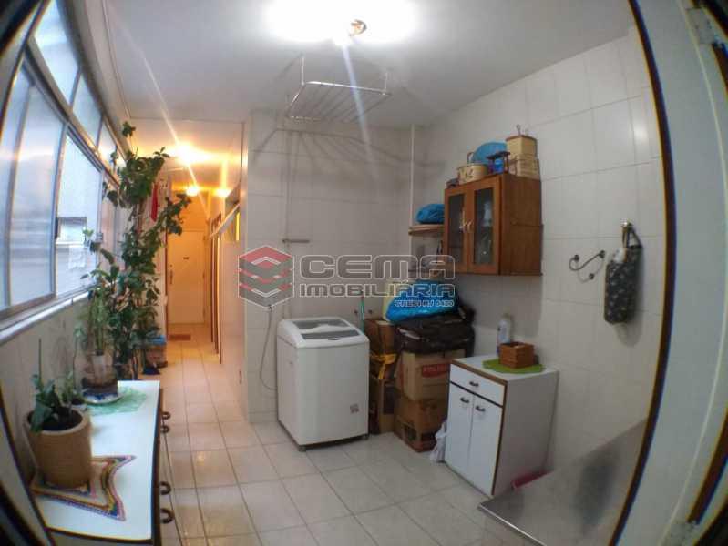 area serviço 18. - Apartamento 3 Quartos À Venda Flamengo, Zona Sul RJ - R$ 2.500.000 - LAAP33122 - 16