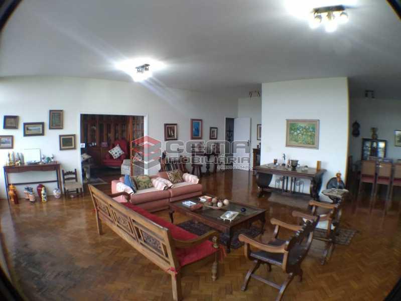 sala 1. - Apartamento 3 Quartos À Venda Flamengo, Zona Sul RJ - R$ 2.500.000 - LAAP33122 - 5