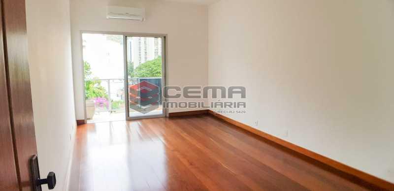 sala - Apartamento Para Alugar - Humaitá - Rio de Janeiro - RJ - LAAP23657 - 8