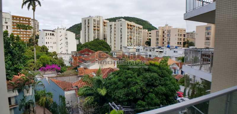vista sala - Apartamento Para Alugar - Humaitá - Rio de Janeiro - RJ - LAAP23657 - 4