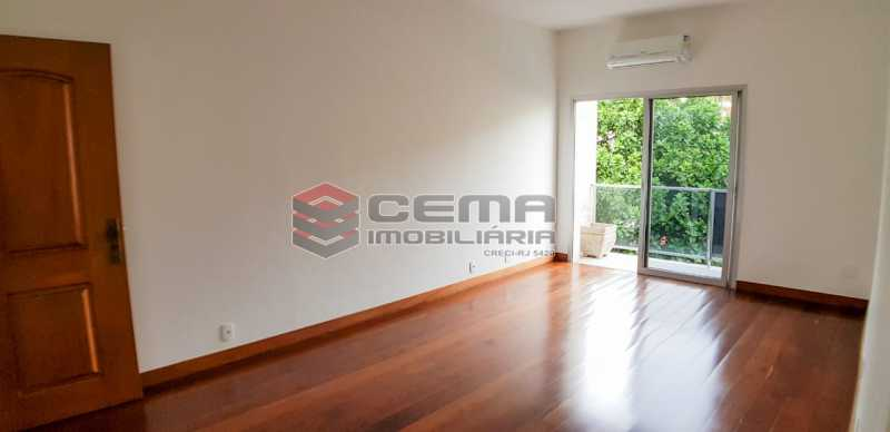 sala - Apartamento Para Alugar - Humaitá - Rio de Janeiro - RJ - LAAP23657 - 5