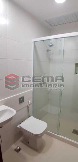 banheiro social - Apartamento Para Alugar - Humaitá - Rio de Janeiro - RJ - LAAP23657 - 14