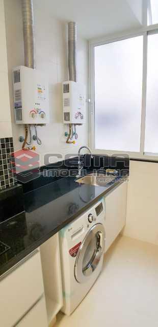 area de serviço  - Apartamento Para Alugar - Humaitá - Rio de Janeiro - RJ - LAAP23657 - 7