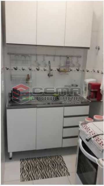 Cozinha - Apartamento 1 quarto à venda Centro RJ - R$ 499.000 - LAAP12086 - 16