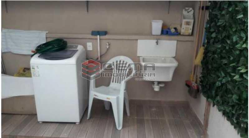 Área Externa - Apartamento 1 quarto à venda Centro RJ - R$ 499.000 - LAAP12086 - 22