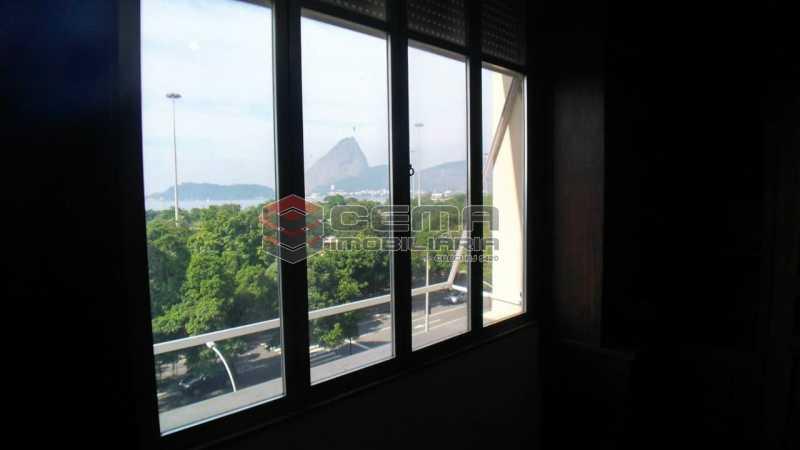 vista quartos 1 e 2 - Apartamento à venda Praia do Flamengo,Flamengo, Zona Sul RJ - R$ 1.998.000 - LAAP40658 - 4