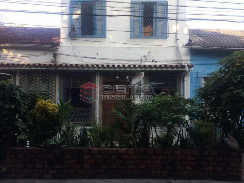 frente casa - LINDA CASA DE VILA RUA IPIRANGA EM LARANJEIRAS RJ - LACV40025 - 1