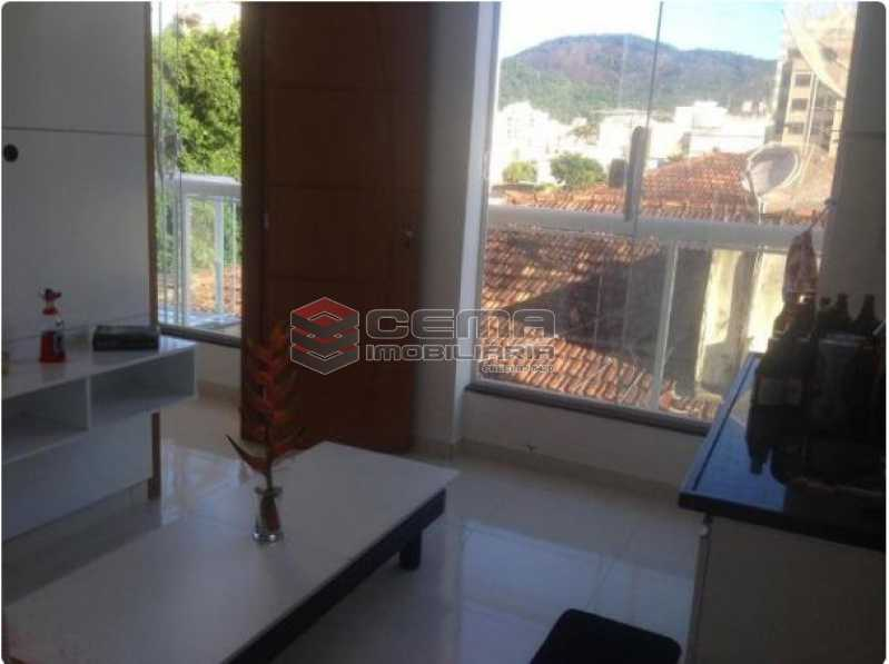 1 - Apartamento à venda Rua Barão de Macaúbas,Botafogo, Zona Sul RJ - R$ 300.000 - LAAP12114 - 1