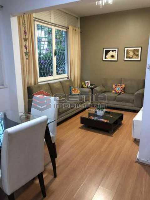 2-sala. - Apartamento 2 quartos à venda Humaitá, Zona Sul RJ - R$ 810.000 - LAAP23733 - 1