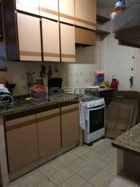 6-cozinha. - Apartamento 2 quartos à venda Humaitá, Zona Sul RJ - R$ 810.000 - LAAP23733 - 7