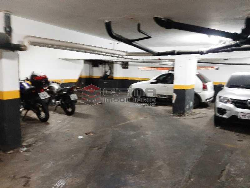 Garagem - Apartamento 1 quarto à venda Centro RJ - R$ 235.000 - LAAP12133 - 14