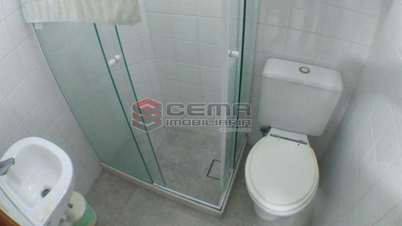 banheiro de serviço - Apartamento À Venda - Flamengo - Rio de Janeiro - RJ - LAAP33195 - 19