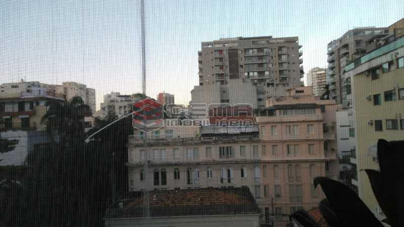 vista sala - Apartamento À Venda - Flamengo - Rio de Janeiro - RJ - LAAP33195 - 20