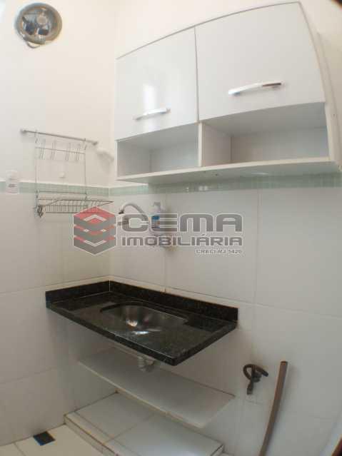 Cozinha - Apartamento 1 quarto para alugar Laranjeiras, Zona Sul RJ - R$ 1.450 - LAAP12148 - 15