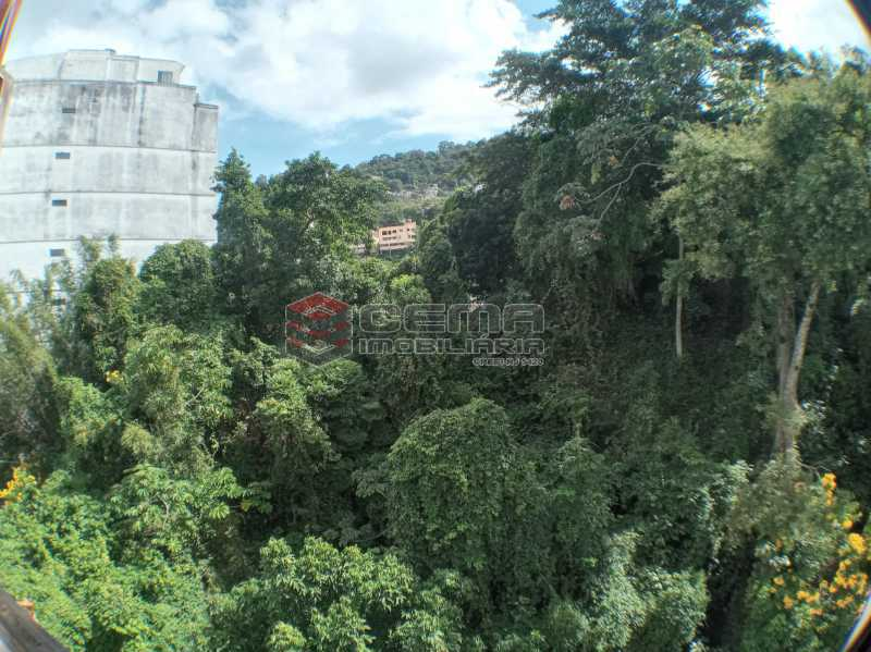 Vista do quarto. - Apartamento 1 quarto para alugar Laranjeiras, Zona Sul RJ - R$ 1.450 - LAAP12148 - 13