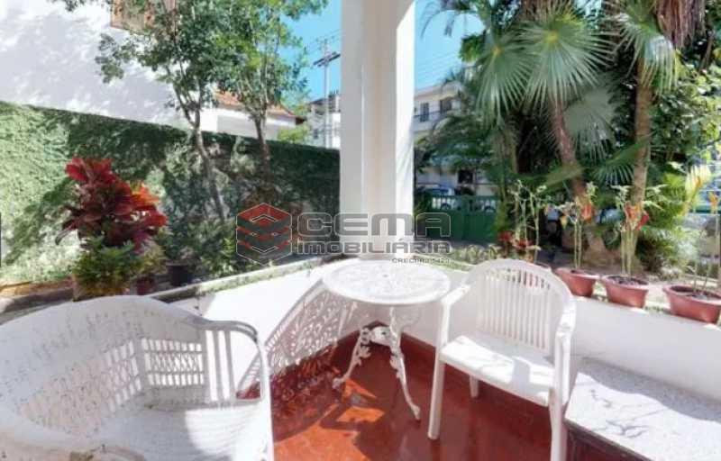 varanda - Casa à venda Rua Otávio Correia,Urca, Zona Sul RJ - R$ 2.800.000 - LACA40085 - 14
