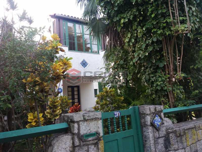 frente - Casa à venda Rua Otávio Correia,Urca, Zona Sul RJ - R$ 2.800.000 - LACA40085 - 1