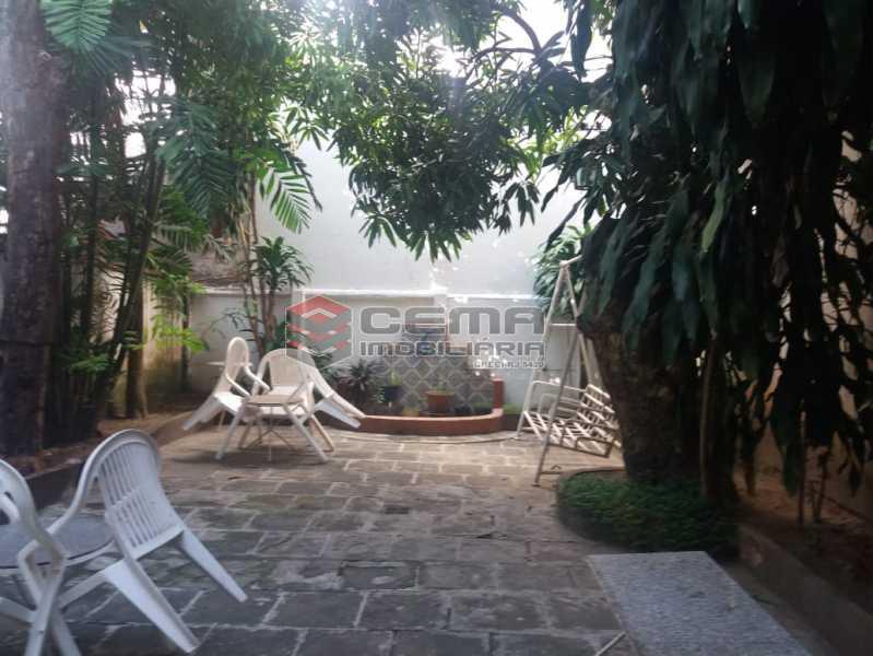 fundos - Casa à venda Rua Otávio Correia,Urca, Zona Sul RJ - R$ 2.800.000 - LACA40085 - 16