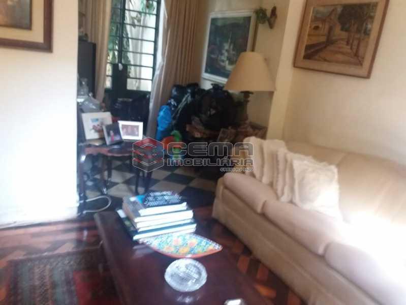 3 sala - Casa à venda Rua Otávio Correia,Urca, Zona Sul RJ - R$ 2.800.000 - LACA40085 - 5