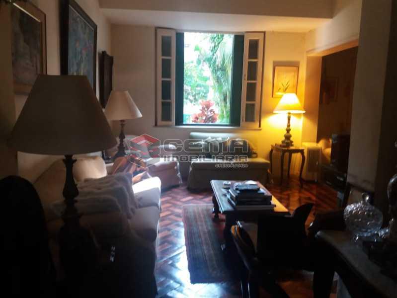 sala - Casa à venda Rua Otávio Correia,Urca, Zona Sul RJ - R$ 2.800.000 - LACA40085 - 3
