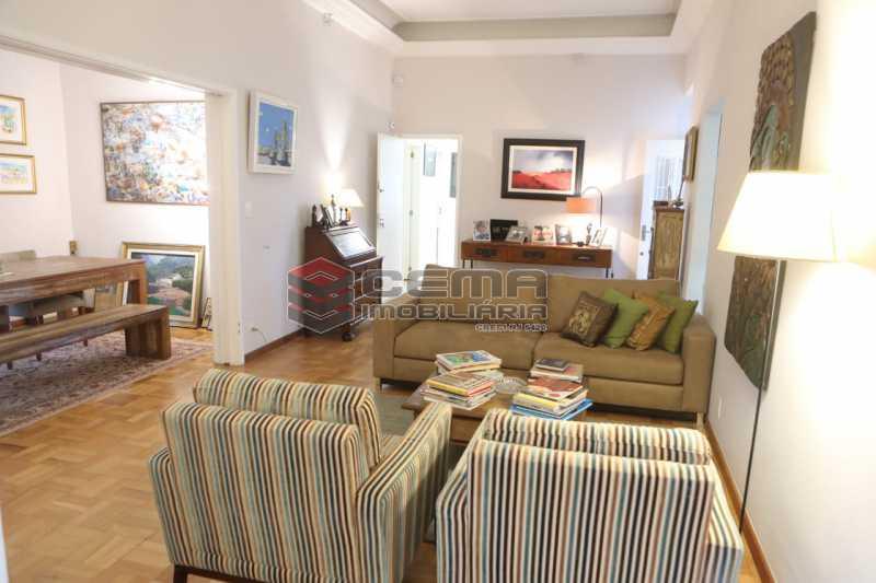 4 003 - casa 4 quartos com 2 vagas em Santa teresa - LACA40086 - 11