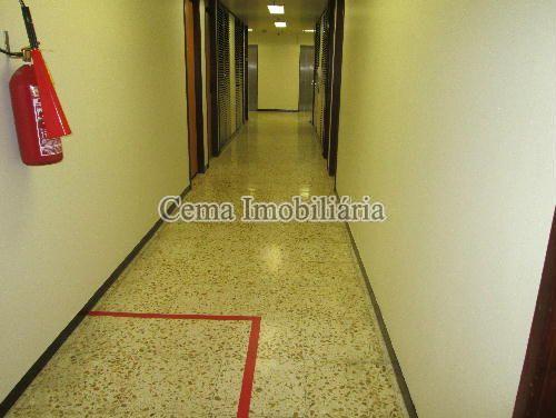 HALL DO ANDAR - Sala Comercial 35m² À Venda Centro RJ - R$ 290.000 - LZ00304 - 7