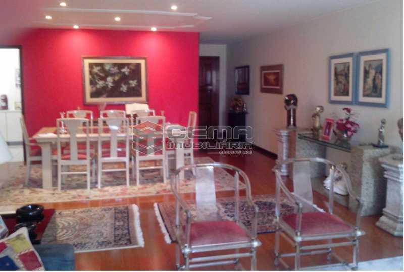 2 - Sala de Jantar - Apartamento à venda Rua Visconde de Pirajá,Ipanema, Zona Sul RJ - R$ 3.000.000 - LAAP40690 - 3