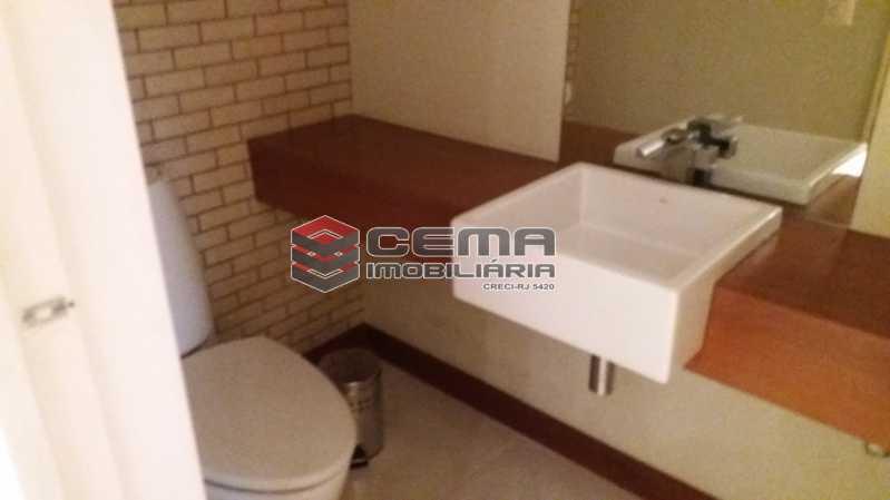 Lavabo - Flat à venda Rua Cruz Lima,Flamengo, Zona Sul RJ - R$ 1.200.000 - LAFL30003 - 17