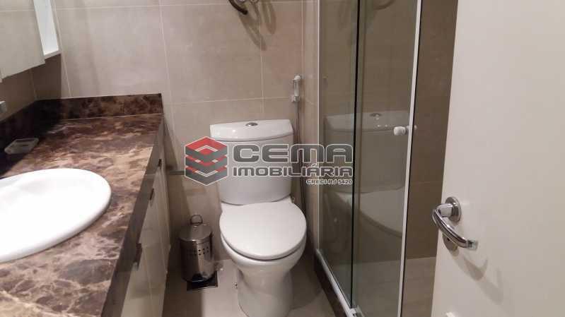 Banheiro Social - Flat à venda Rua Cruz Lima,Flamengo, Zona Sul RJ - R$ 1.200.000 - LAFL30003 - 16