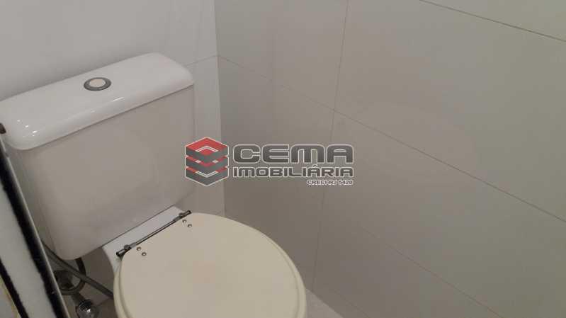 Banheiro de Serviço - Flat à venda Rua Cruz Lima,Flamengo, Zona Sul RJ - R$ 1.200.000 - LAFL30003 - 18