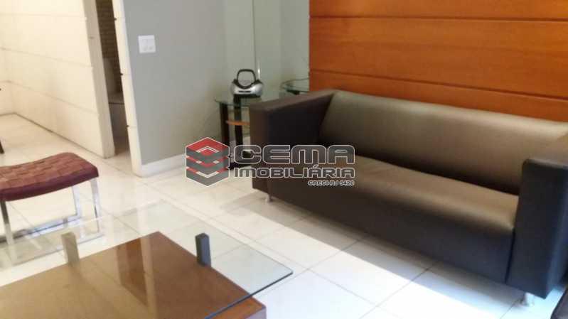 Sala - Flat à venda Rua Cruz Lima,Flamengo, Zona Sul RJ - R$ 1.200.000 - LAFL30003 - 6