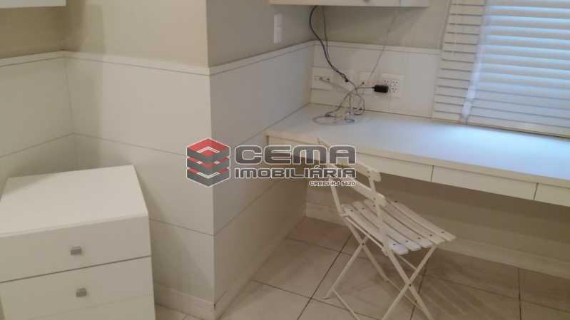 Quarto - Flat à venda Rua Cruz Lima,Flamengo, Zona Sul RJ - R$ 1.200.000 - LAFL30003 - 11