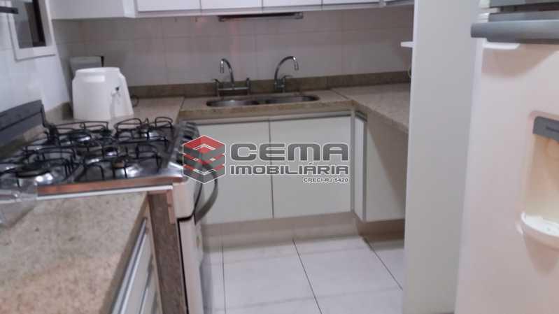 Cozinha - Flat à venda Rua Cruz Lima,Flamengo, Zona Sul RJ - R$ 1.200.000 - LAFL30003 - 13