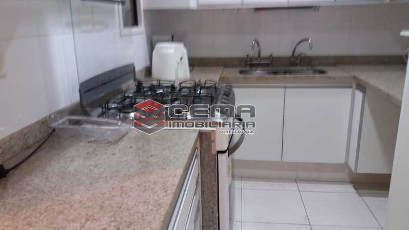 Cozinha - Flat à venda Rua Cruz Lima,Flamengo, Zona Sul RJ - R$ 1.200.000 - LAFL30003 - 14