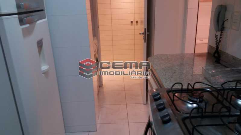 Cozinha - Flat à venda Rua Cruz Lima,Flamengo, Zona Sul RJ - R$ 1.200.000 - LAFL30003 - 15