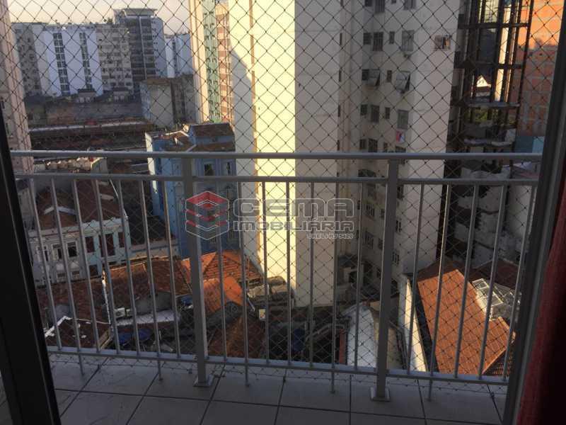 Varanda - Apartamento 1 quarto à venda Centro RJ - R$ 550.000 - LAAP12191 - 5
