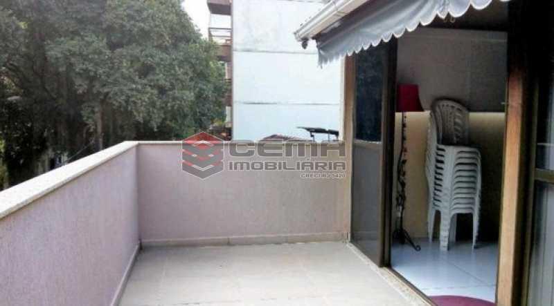 10 - Casa à venda Rua Paulo Barreto,Botafogo, Zona Sul RJ - R$ 1.650.000 - LACA30062 - 3