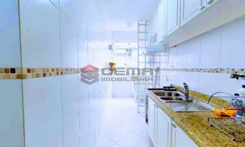 cozinha - Apartamento à venda Rua Marquesa de Santos,Laranjeiras, Zona Sul RJ - R$ 670.000 - LAAP12233 - 5