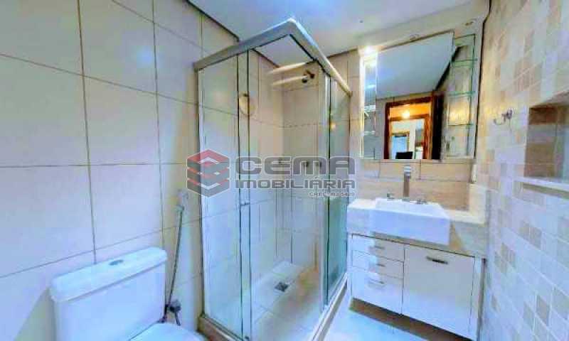 banheiro - Apartamento à venda Rua Marquesa de Santos,Laranjeiras, Zona Sul RJ - R$ 670.000 - LAAP12233 - 13