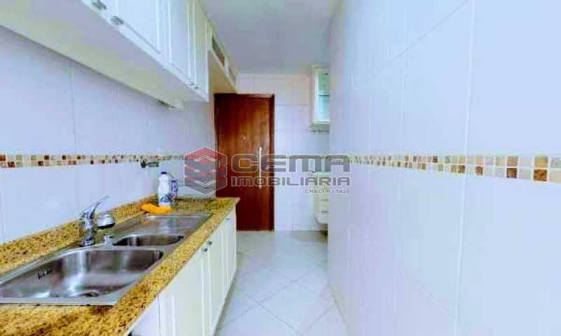 cozinha - Apartamento à venda Rua Marquesa de Santos,Laranjeiras, Zona Sul RJ - R$ 670.000 - LAAP12233 - 16