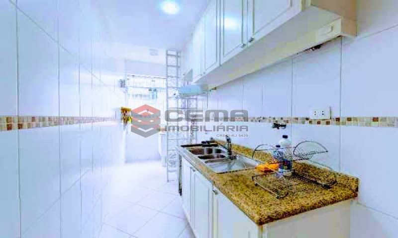 cozinha - Apartamento à venda Rua Marquesa de Santos,Laranjeiras, Zona Sul RJ - R$ 670.000 - LAAP12233 - 17