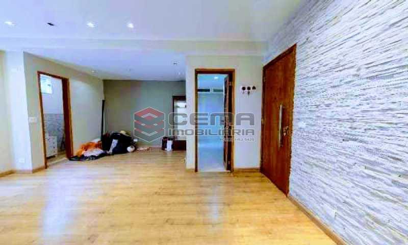 sala - Apartamento à venda Rua Marquesa de Santos,Laranjeiras, Zona Sul RJ - R$ 670.000 - LAAP12233 - 4